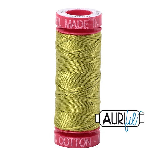 Aurifil 12 50m 1147 Light Leaf Green Cotton Thread