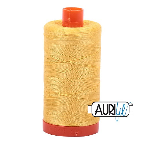 Aurifil 50 1300m 1135 Pale Yellow Cotton Thread