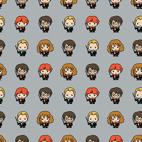 Harry Potter Characters Bamboo Flannel Fabric