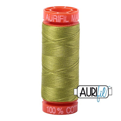Aurifil 50 200m 1147 Cotton Thread Light Leaf Green
