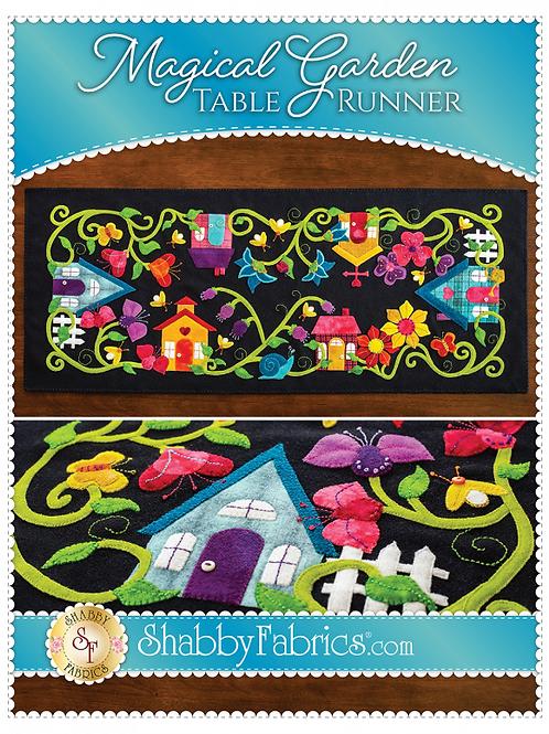 Magical Garden Table Runner Pattern