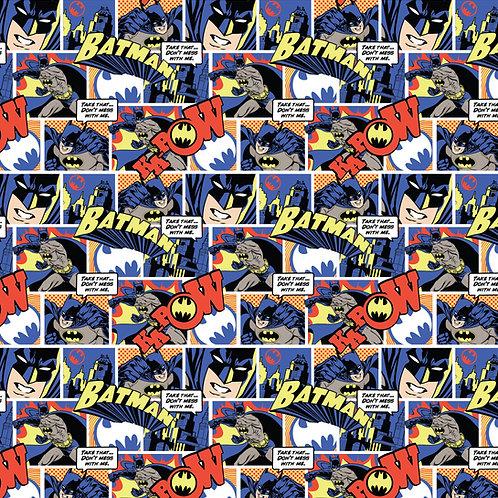 DC Batman Pop Comics Fabric