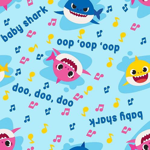 Baby Shark Star Music Toss Fabric