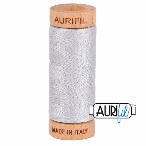 Aurifil 80 280m 2600 Dove Cotton Thread