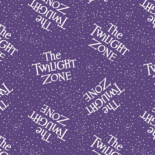 The Twilight Zone Fabric - Glows in the Dark
