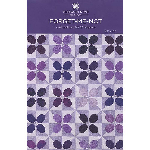 Missouri Star Forget Me Not Quilt Pattern