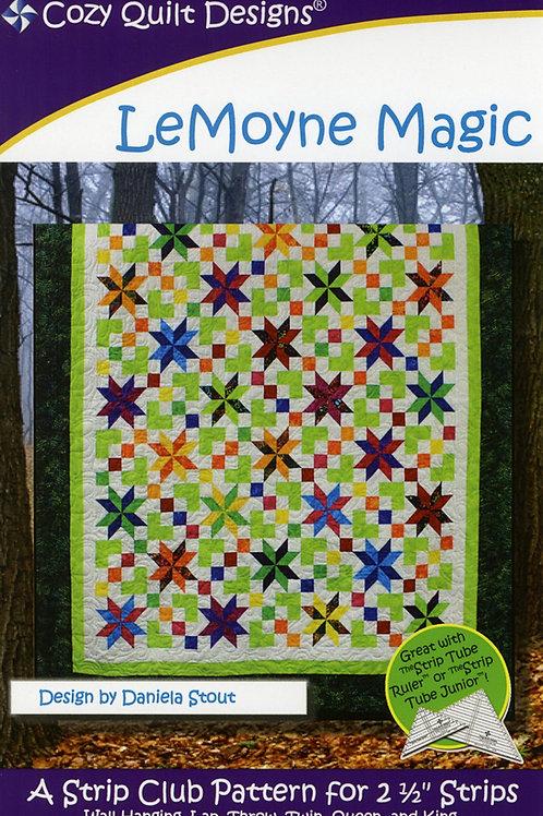 Cozy Quilt Designs LeMoyne Magic Quilt Pattern