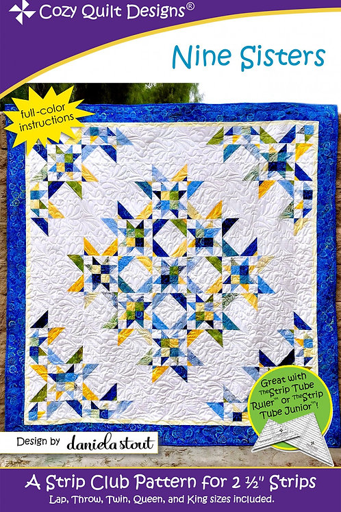 Cozy Quilt Designs Nine Sisters Quilt Pattern