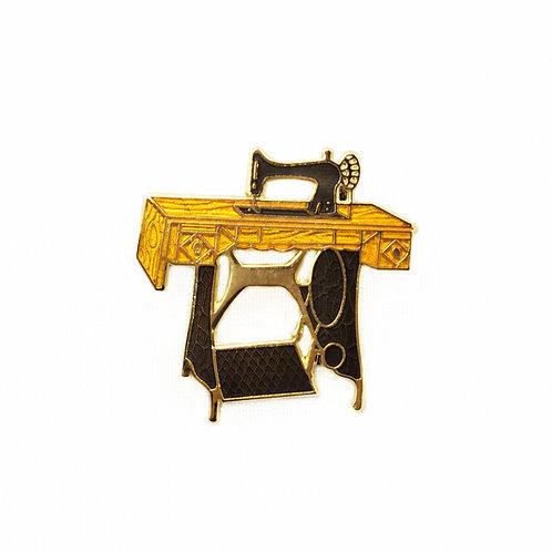 Pin Peddlers Treadle Sewing Machine Pin