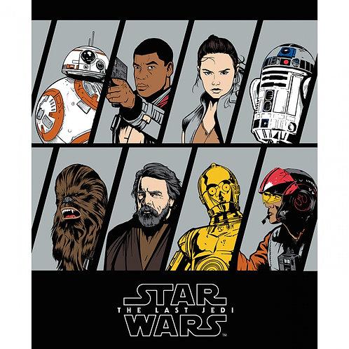 Star Wars Last Jedi Character Panel