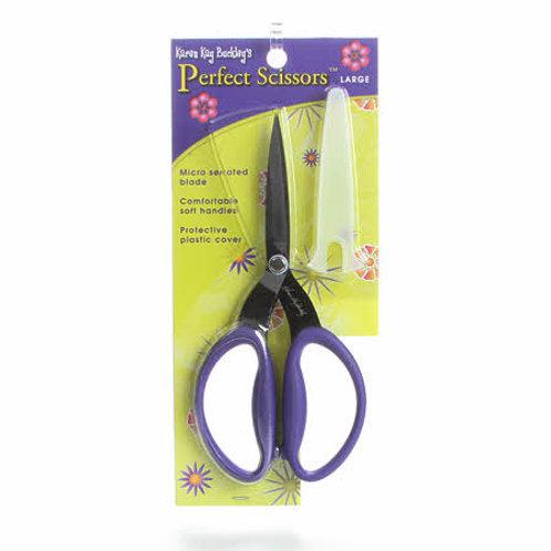 Karen Kay Buckley Perfect Scissors 7 1/2 inch Purple