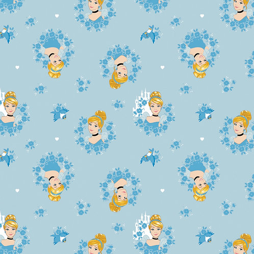 Cinderella Heads Fabric
