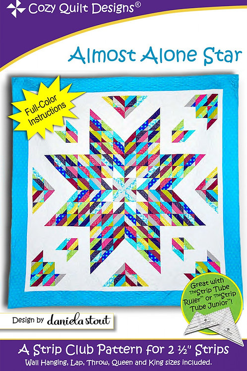 Cozy Quilt Designs Almost Alone Star Quilt Pattern