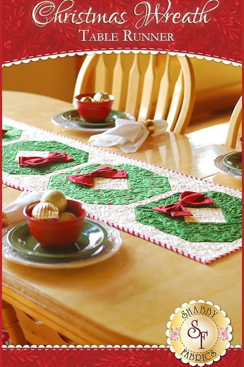 Christmas Wreath Table Runner Pattern