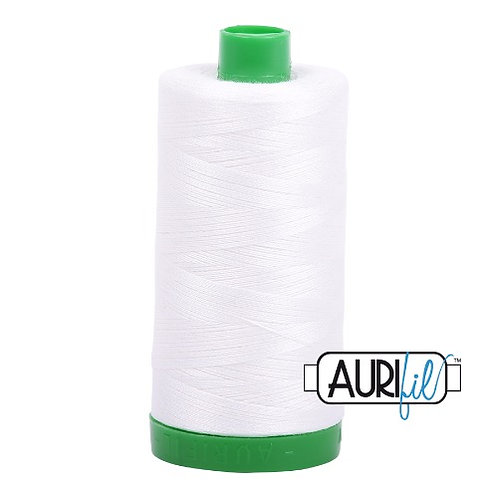 Aurifil 40 1000m 2021 Natural White Cotton Thread