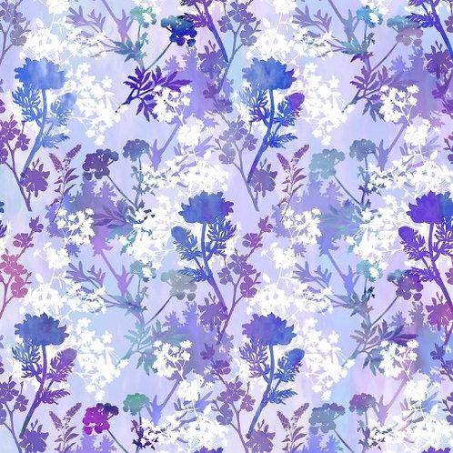 Garden of Dreams Fabric - Purple Brilliance