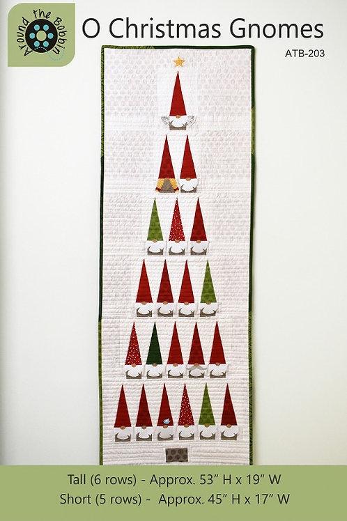 O Christmas Gnomes Pattern
