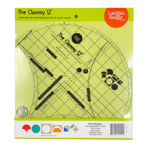 Clammy 12 Inch Clamshell Template
