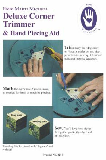 Marti Michell Deluxe Corner Trimmer and Hand Piecing Aid