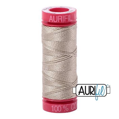 Aurifil 12 50m 2324 Stone Cotton Thread