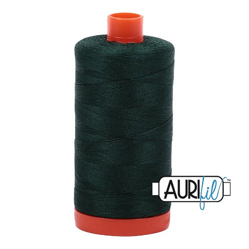 Aurifil 50 1300m 4026 Forest Green Cotton Thread