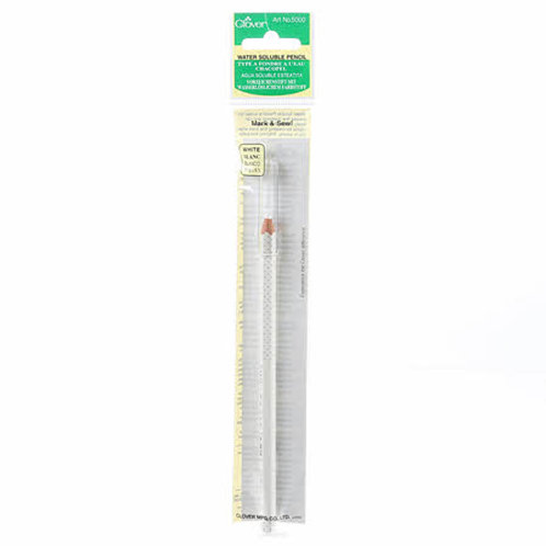 Clover White Water Soluble Pencil