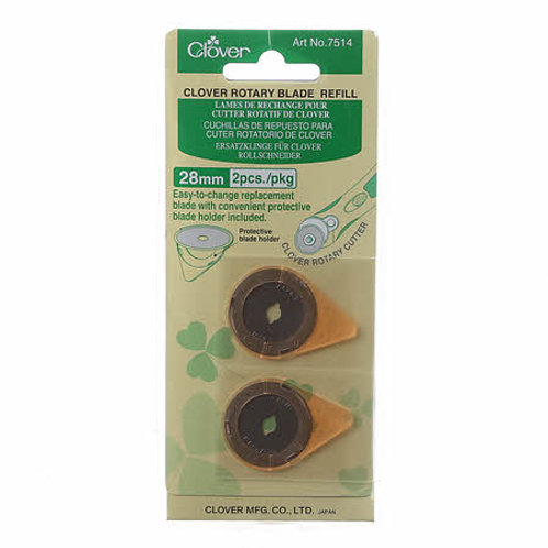 Clover 28mm Rotary Blades