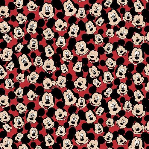 Fleece - Mickey Mouse Fleece Fabric