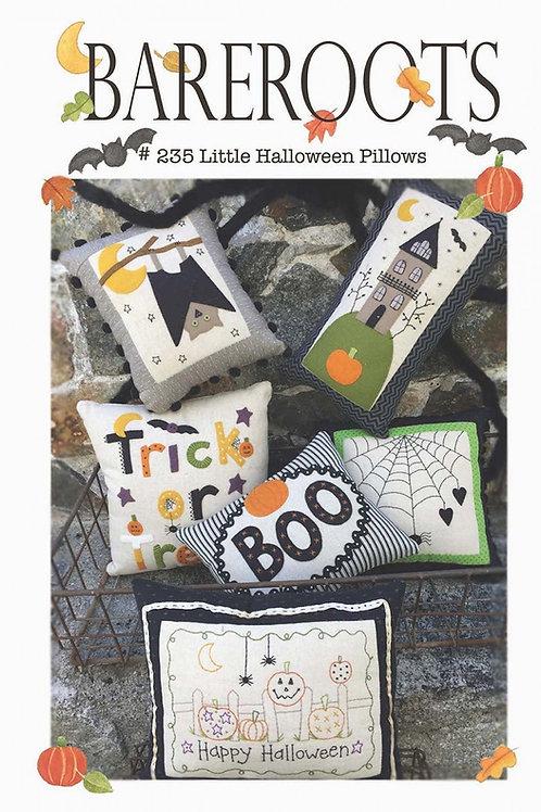 Bareroots Little Halloween Pillows Pattern