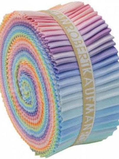 Robert Kaufman Kona Solids Pastel Roll Up