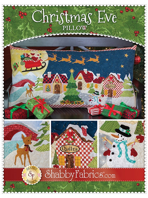 Christmas Eve Pillow Pattern