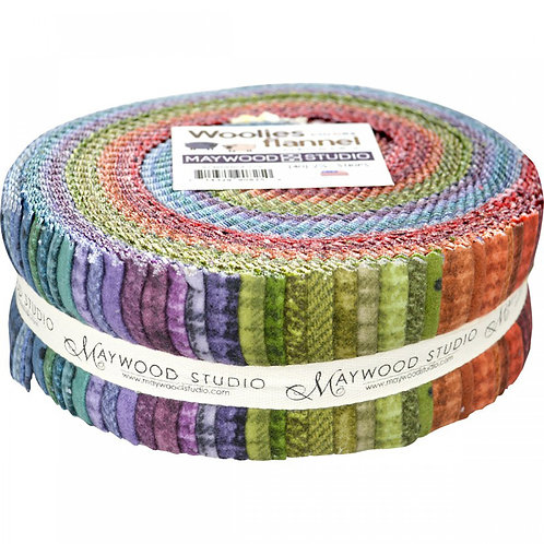 Maywood Woolies Flannel Shadow Play Colour Roll up