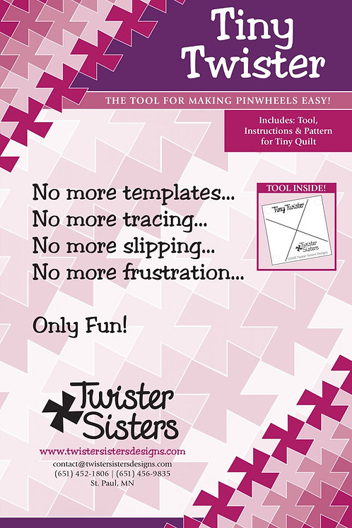Tiny Twister Quilting Template