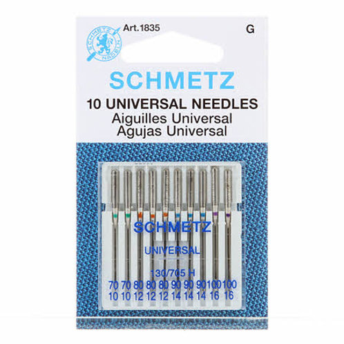 Schmetz Universal Needles size 70/80/90/100