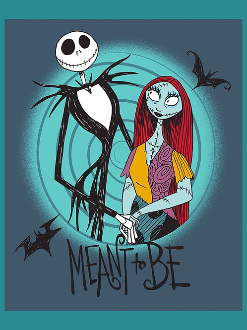 Nightmare Before Christmas Meant To Be Panel.