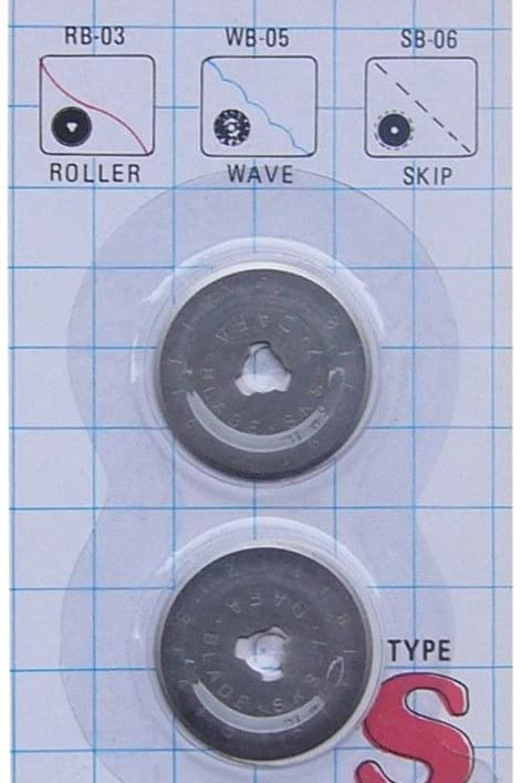 Dafa 28mm Rotary Cutter Blades x 2