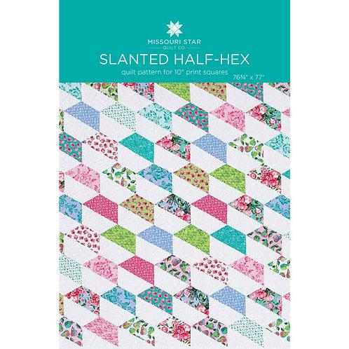 Missouri Star Quilt Company Slanted Half-Hex Pattern