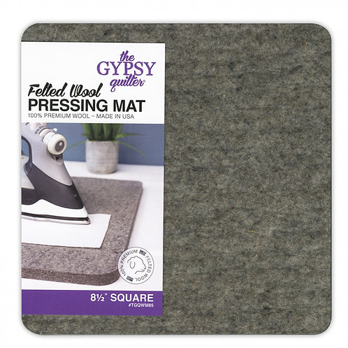 """Gypsy Quilter Wool Pressing Mat 8.5"""" x 8.5"""""""