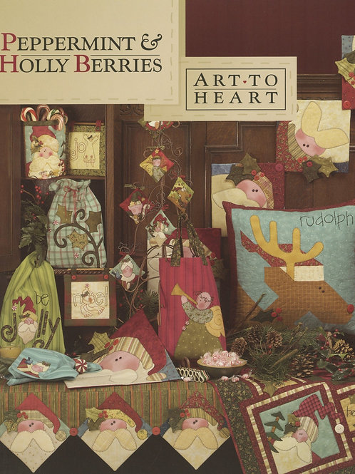 Peppermint and Holly Berries Pattern Book
