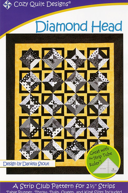 Cozy Quilt Designs Diamond Head Quilt Pattern