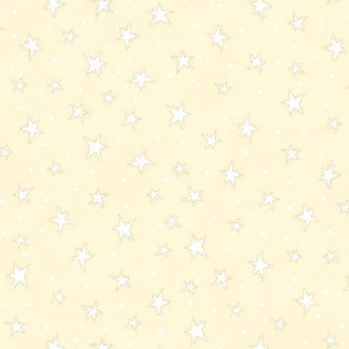 Cream Starry Fabric