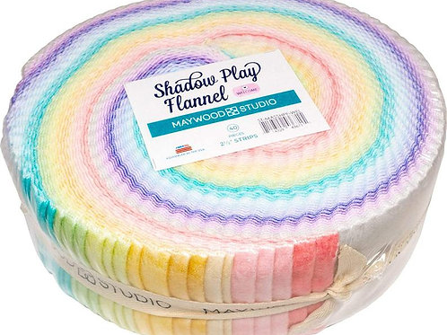 Maywood Flannel Shadow Play Welcome Roll up