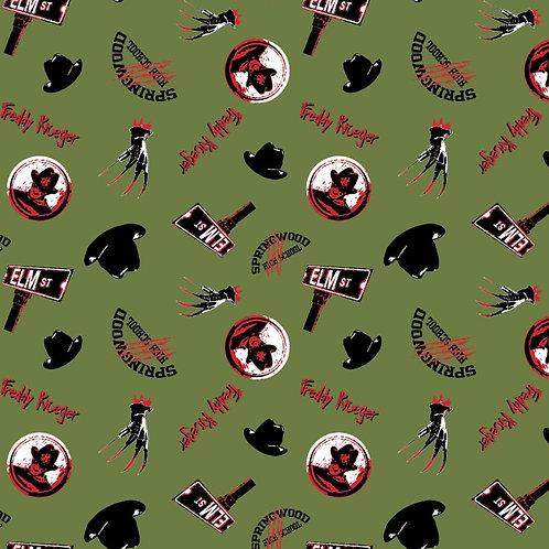 Freddy Kruger Nightmare On Elm Street Halloween Fabric