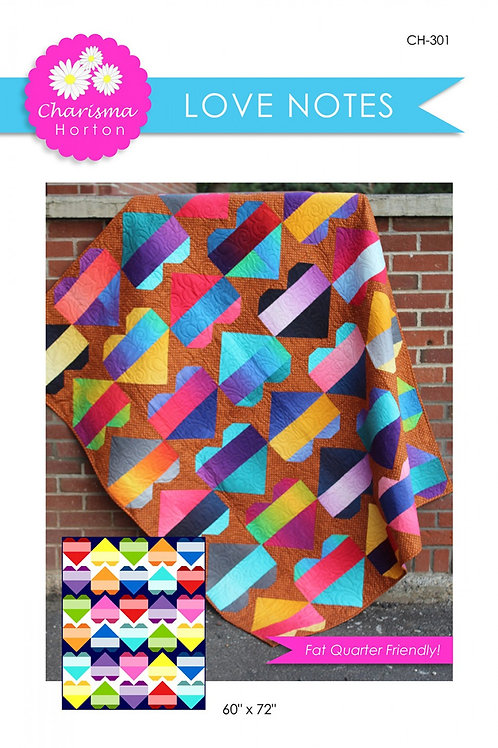 Love Notes Quilt Pattern