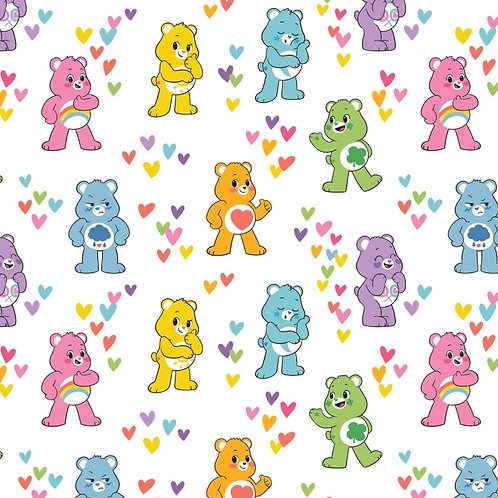 Care Bears Friends Fabric