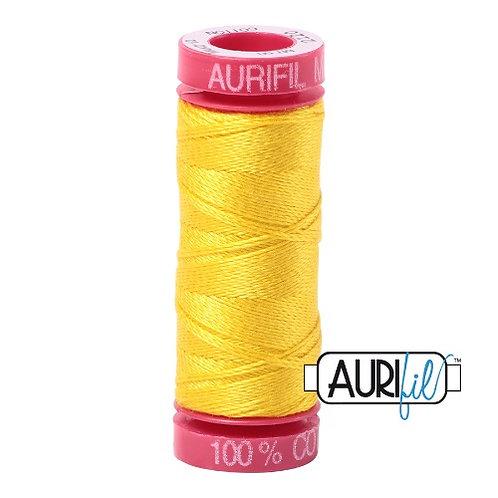 Aurifil 12 50m 2120 Canary Cotton Thread