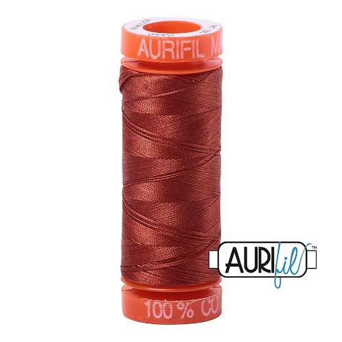 Aurifil 50 200m 2350 Cotton Thread Copper