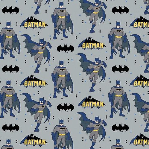 Batman Fabric - Grey