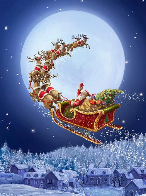 To All A Good Night Christmas Panel