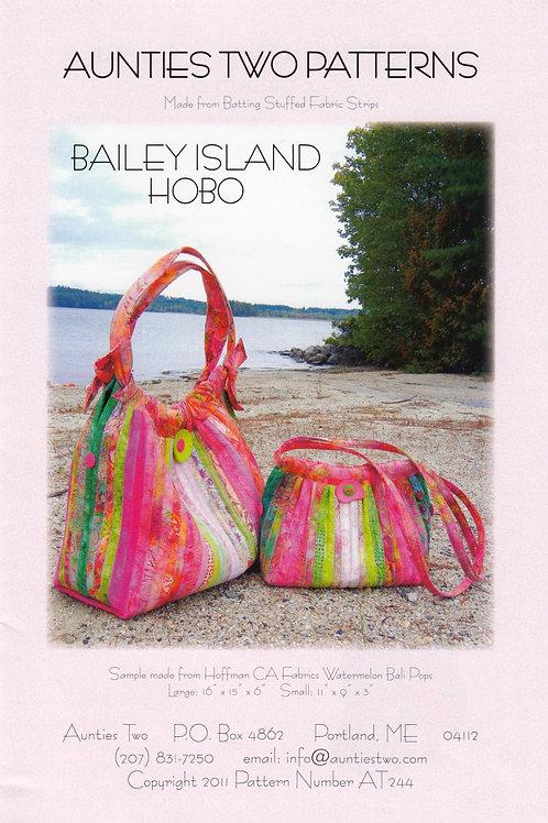 Aunties Two Bailey Island Hobo Bag Pattern